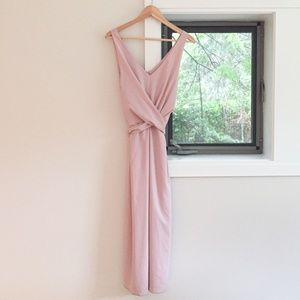 Blush Pink Wilfred Darcell Dress